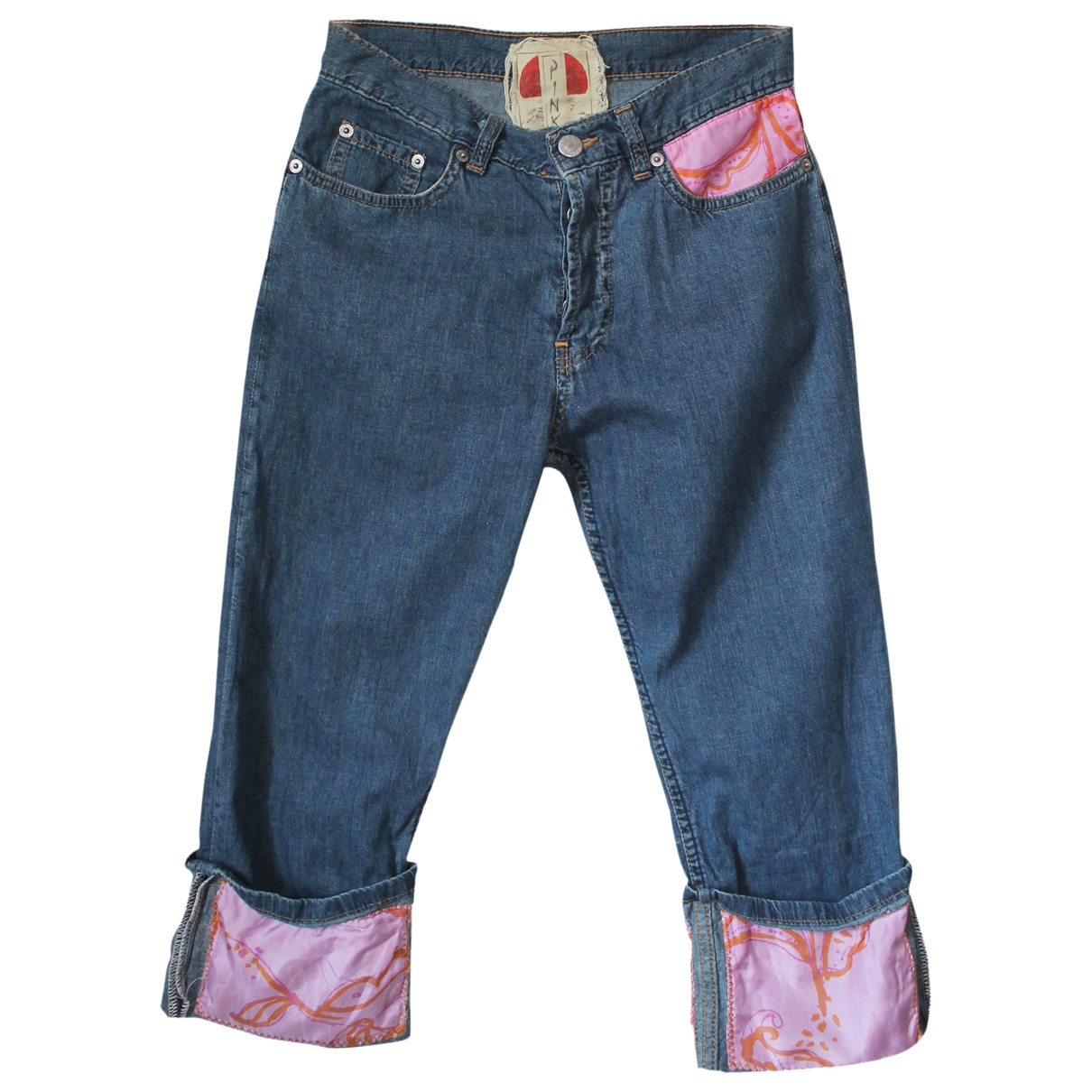 Pinko \N Navy Denim - Jeans Trousers for Women XS International