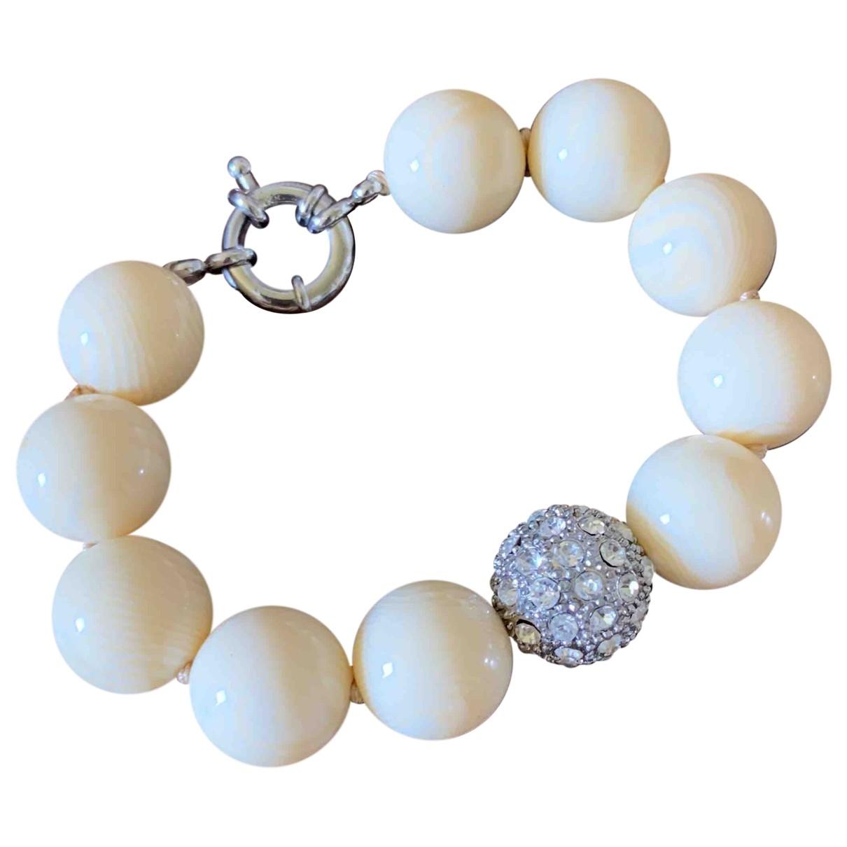 Non Signé / Unsigned \N Yellow Horn bracelet for Women \N