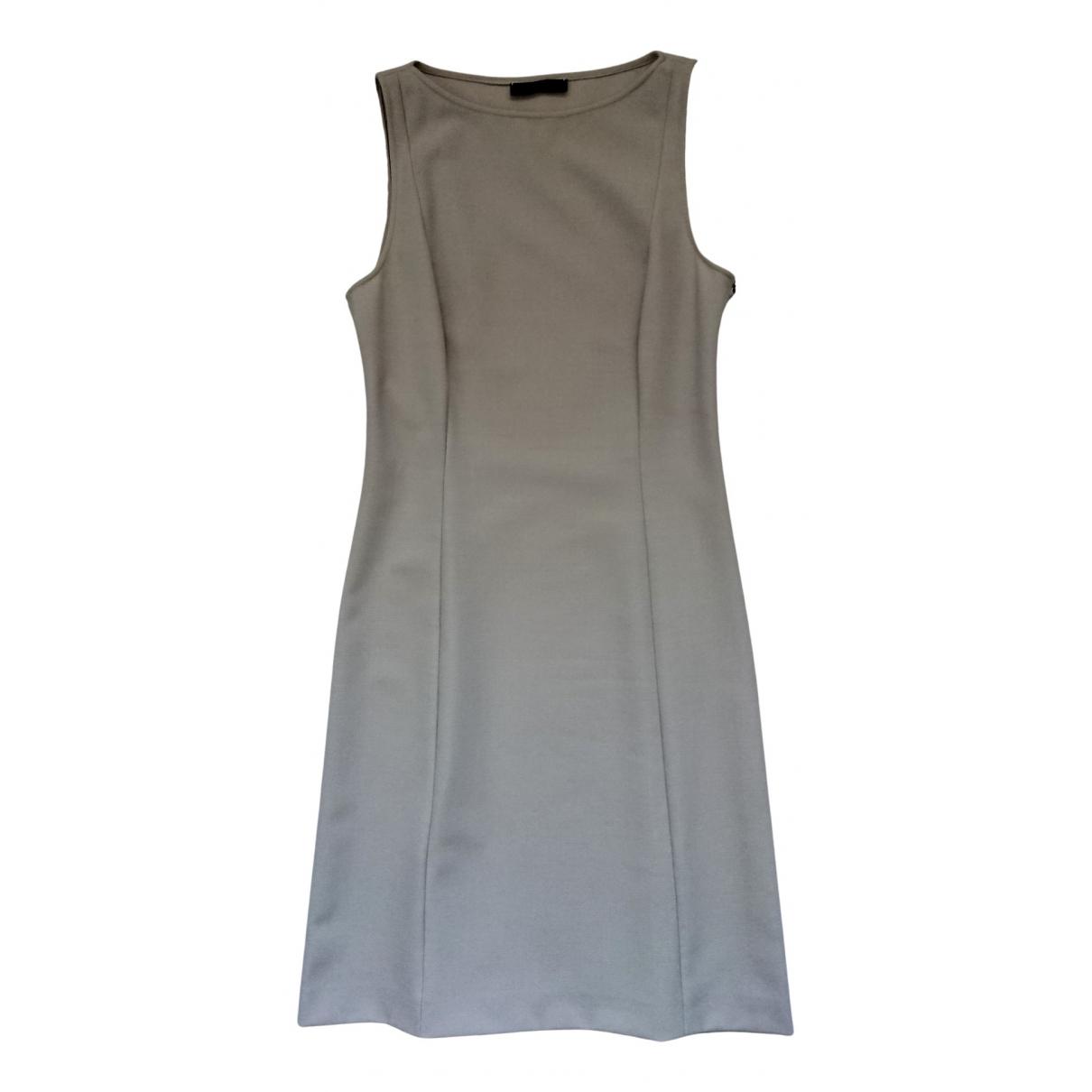 Emporio Armani \N Kleid in  Grau Polyester
