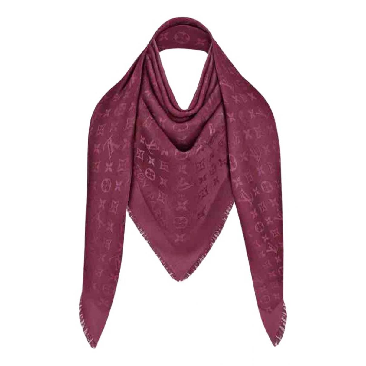 Louis Vuitton \N Purple Silk scarf for Women \N