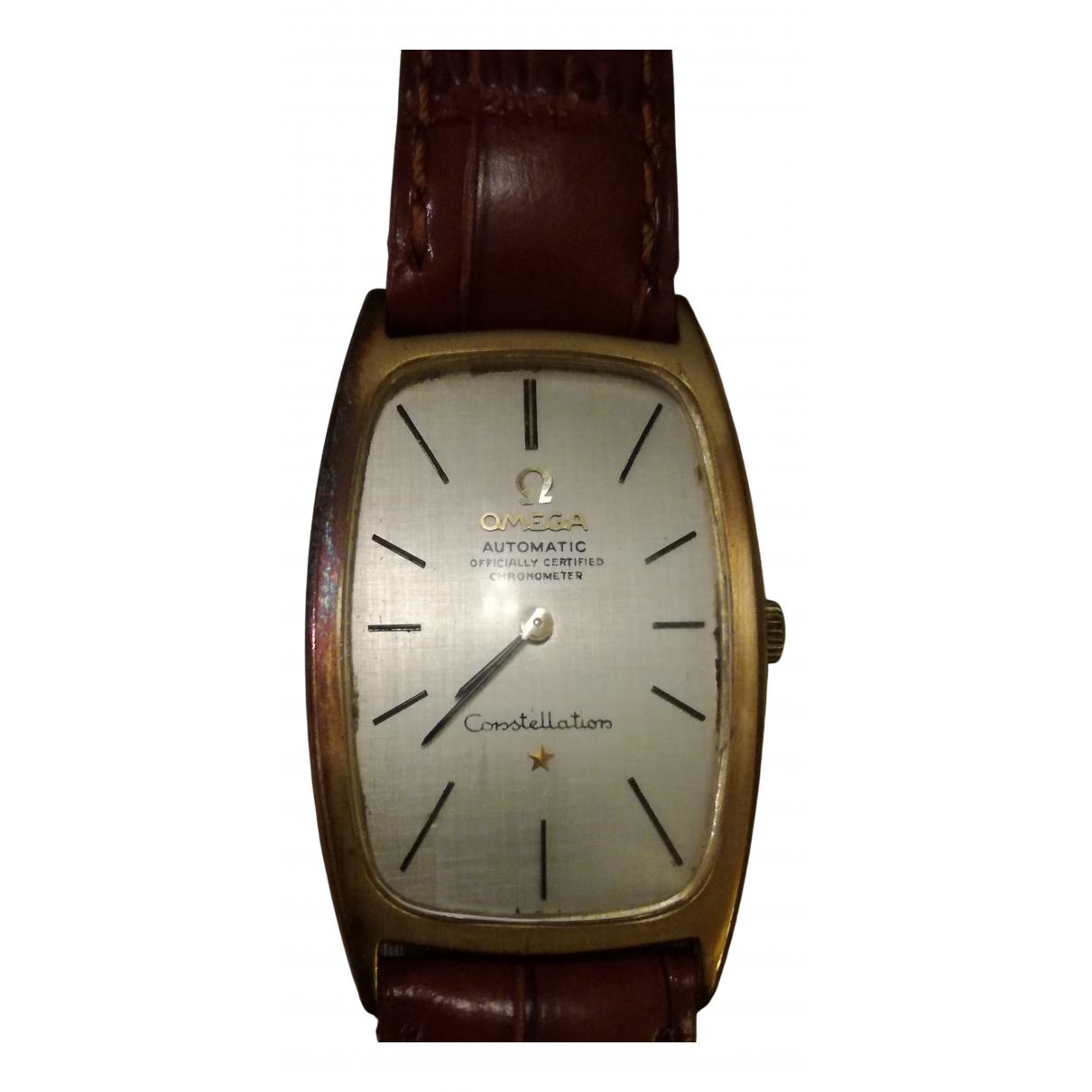 Omega Constellation Gold Yellow gold watch for Men N