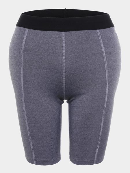 Yoins Grey Professional Biker Shorts