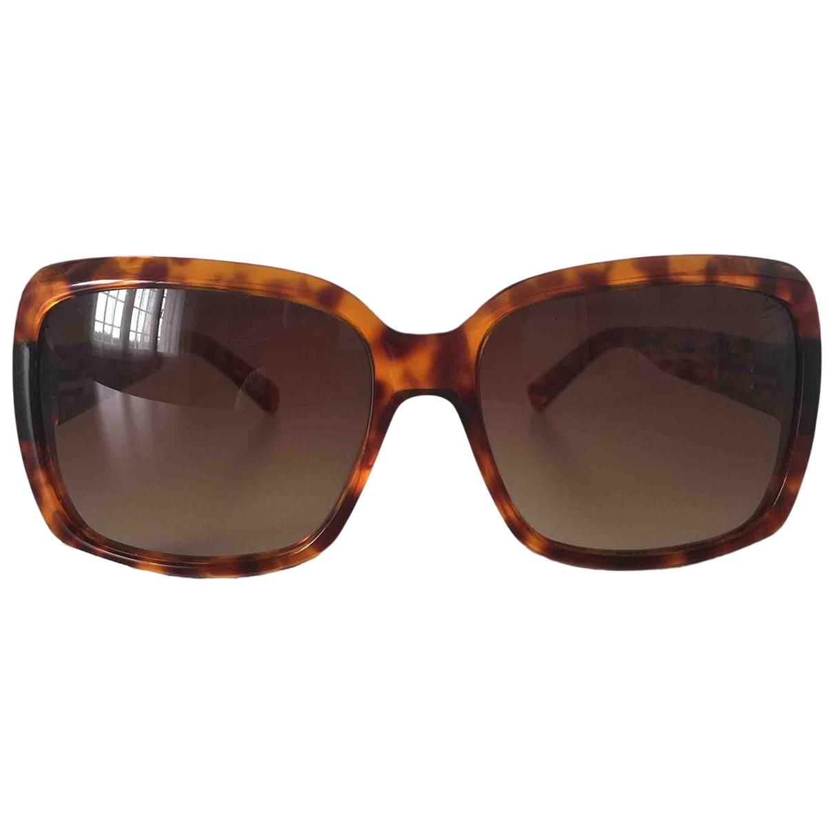 Non Signe / Unsigned \N Sonnenbrillen in  Braun Kunststoff