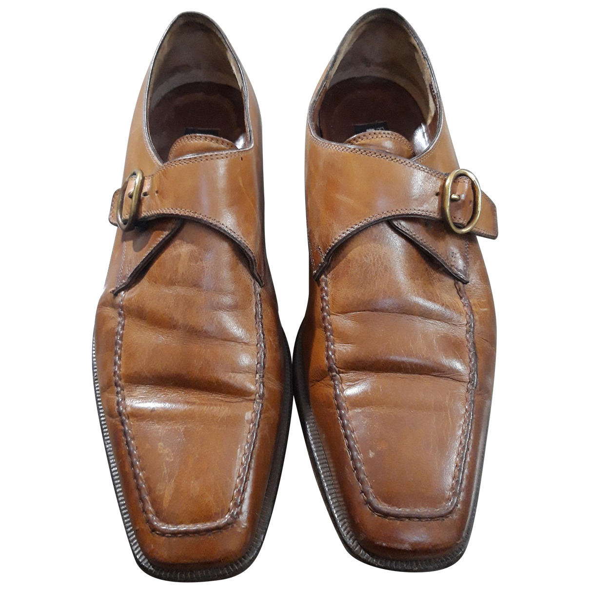 Fratelli Rossetti N Brown Leather Lace ups for Men 7.5 UK