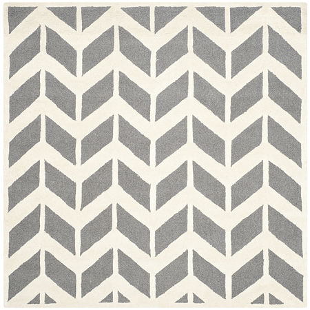 Safavieh Darrell Chevron Area Rug, One Size , Gray