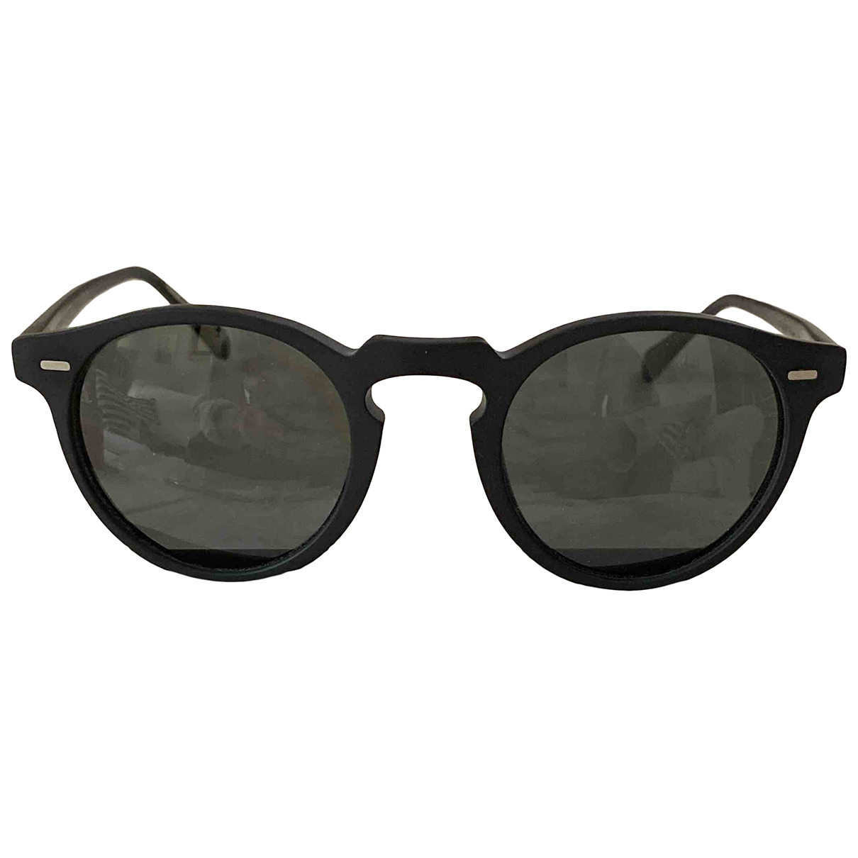Oliver Peoples \N Sonnenbrillen in  Schwarz Kunststoff