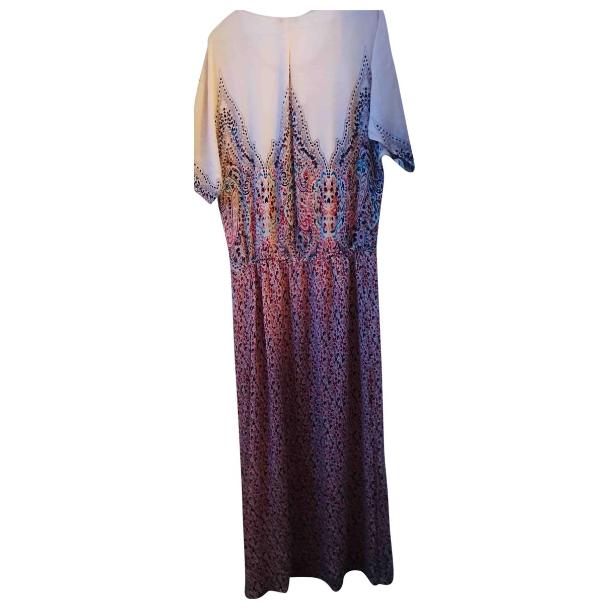 Mes Demoiselles ... - Robe   pour femme en soie - multicolore