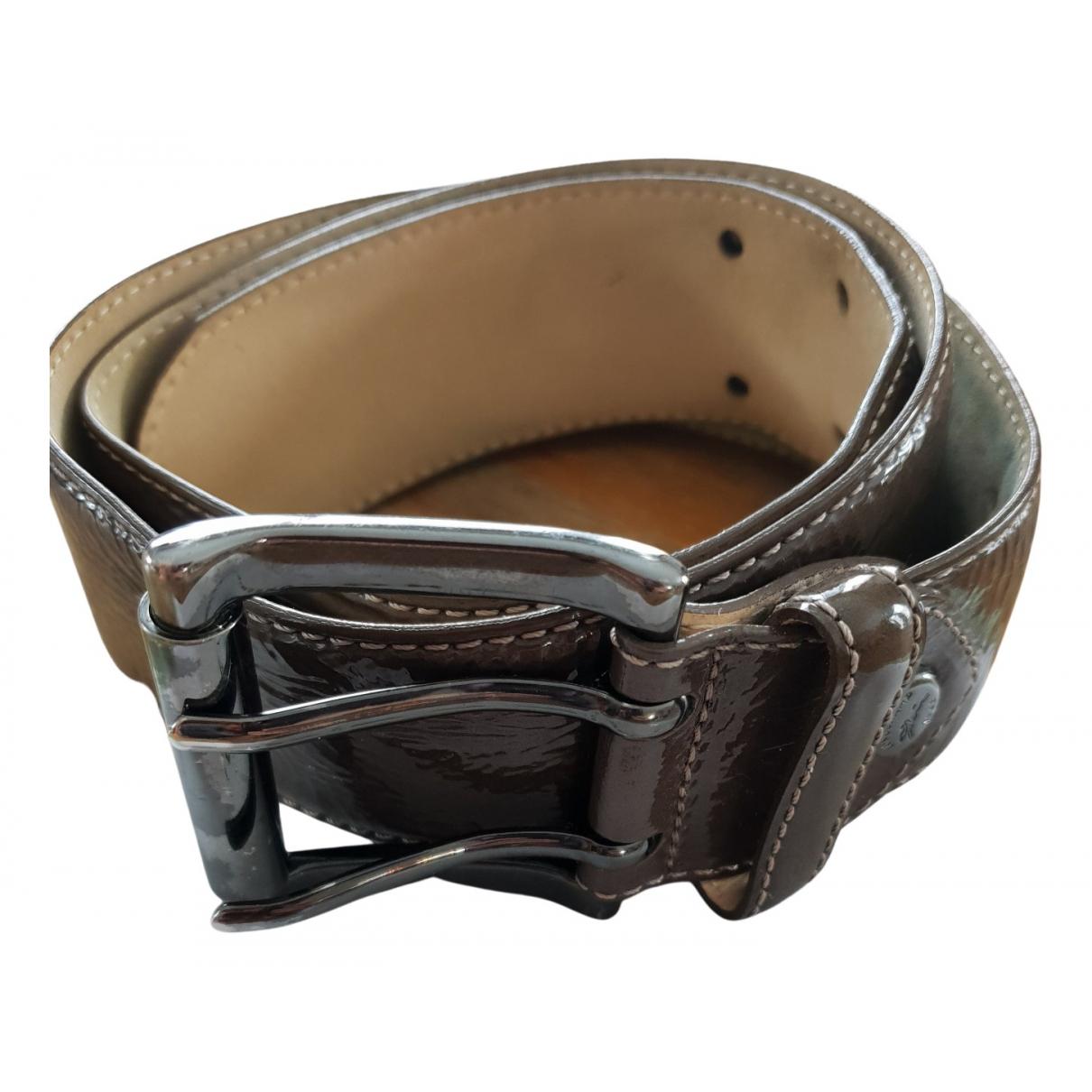 Cinturon de Charol Longchamp