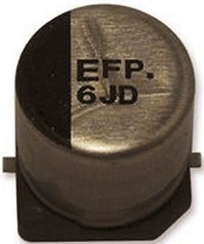 Panasonic 330μF Electrolytic Capacitor 10V dc, Surface Mount - EEEFP1A331AP (5)