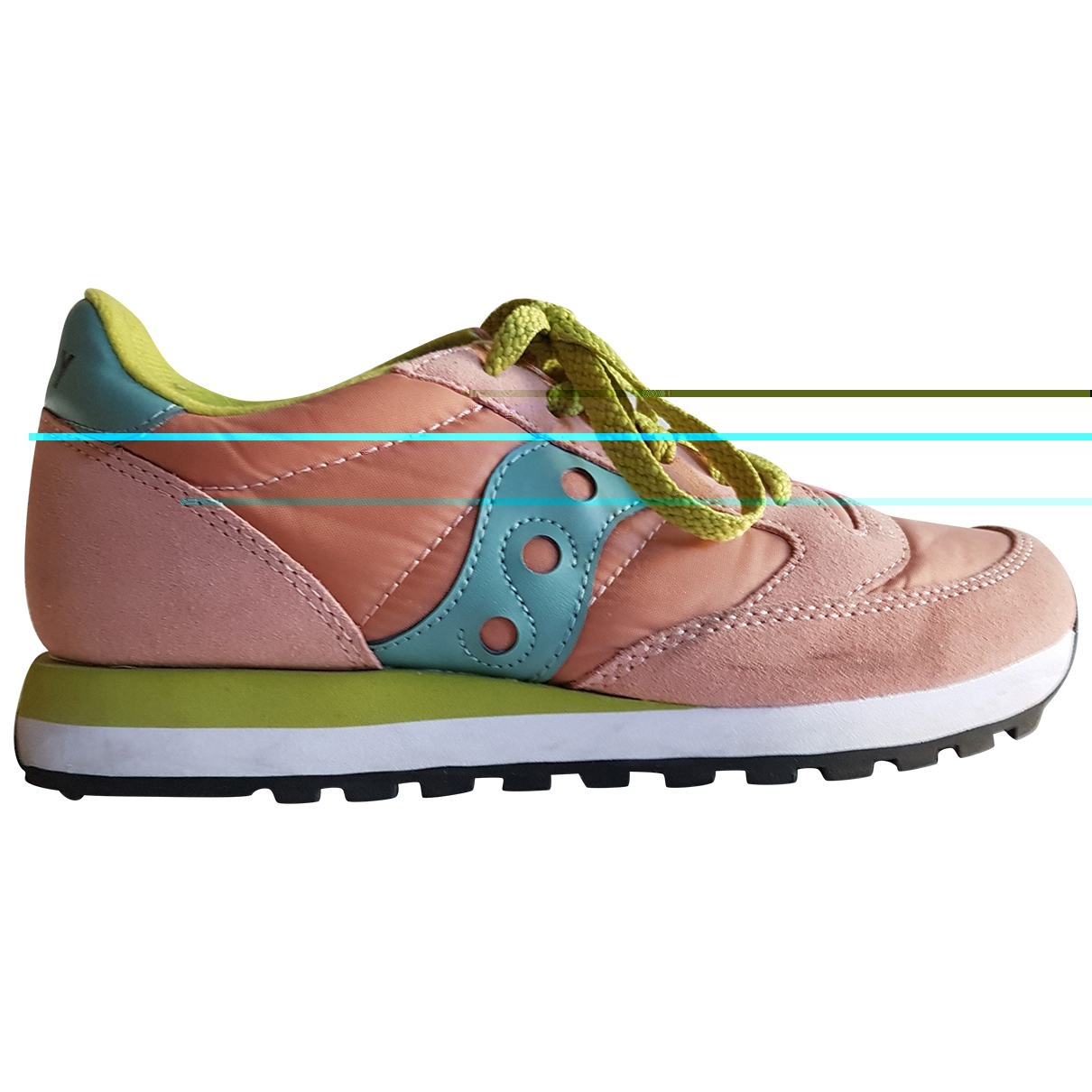Saucony \N Sneakers in  Rosa Polyester