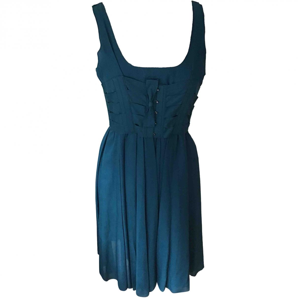 Twenty8twelve By S.miller - Robe   pour femme en soie - bleu