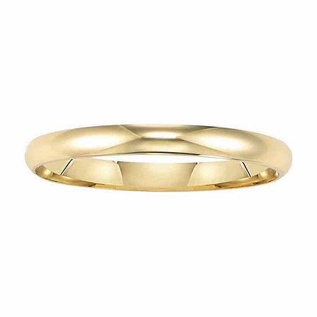 2MM 14K Gold Wedding Band, 9 1/2 , No Color Family