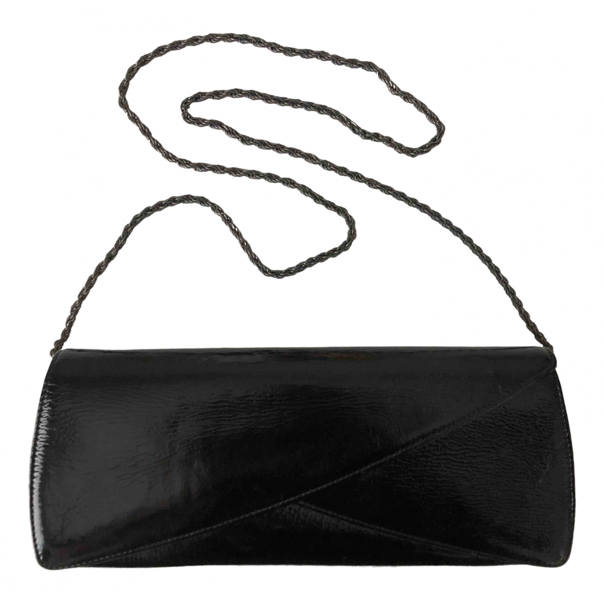 Rodo \N Black Patent leather Clutch bag for Women \N
