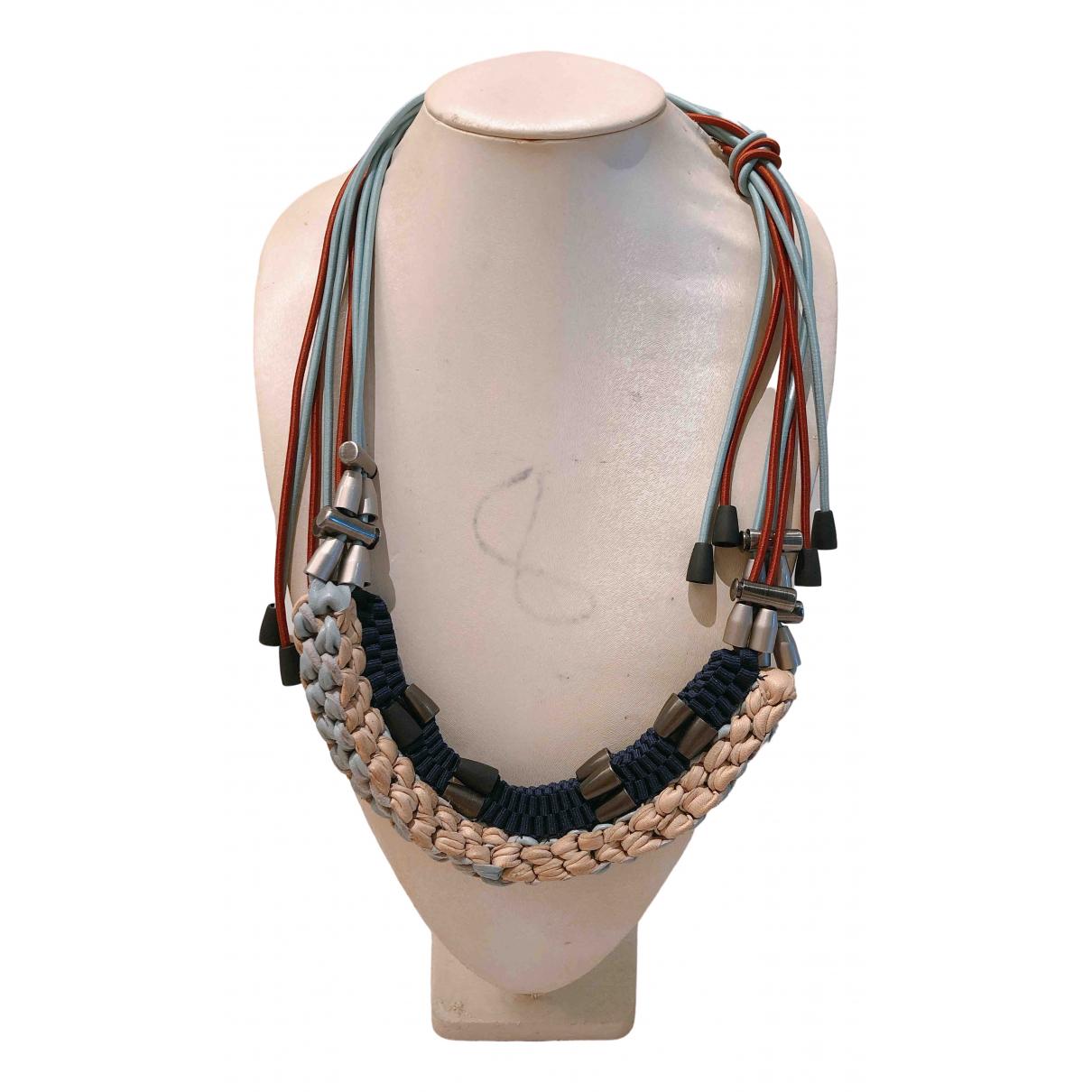 Marni - Collier   pour femme en metal - multicolore