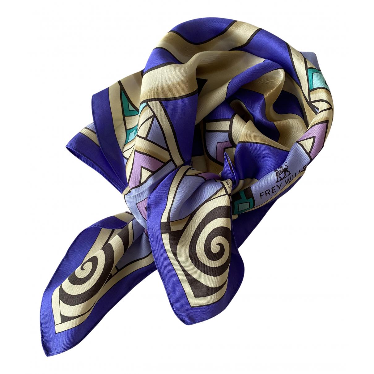 Frey Wille - Carre   pour femme en soie - violet