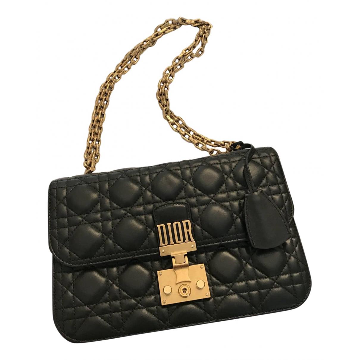 Dior DiorAddict Green Leather handbag for Women \N