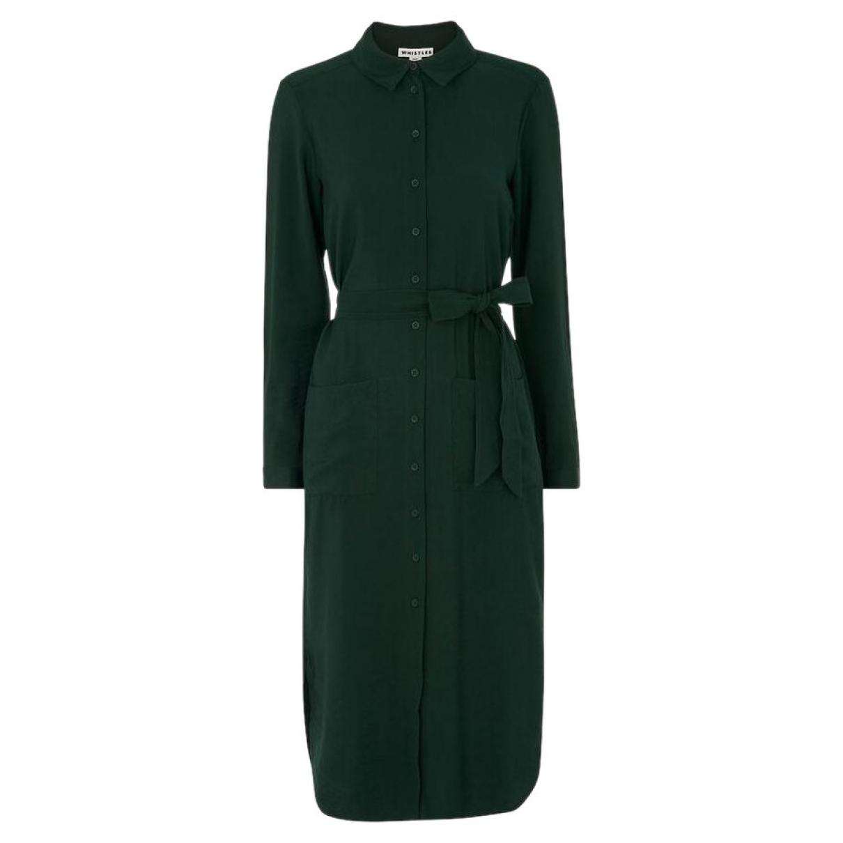 Whistles \N Kleid in  Gruen Viskose
