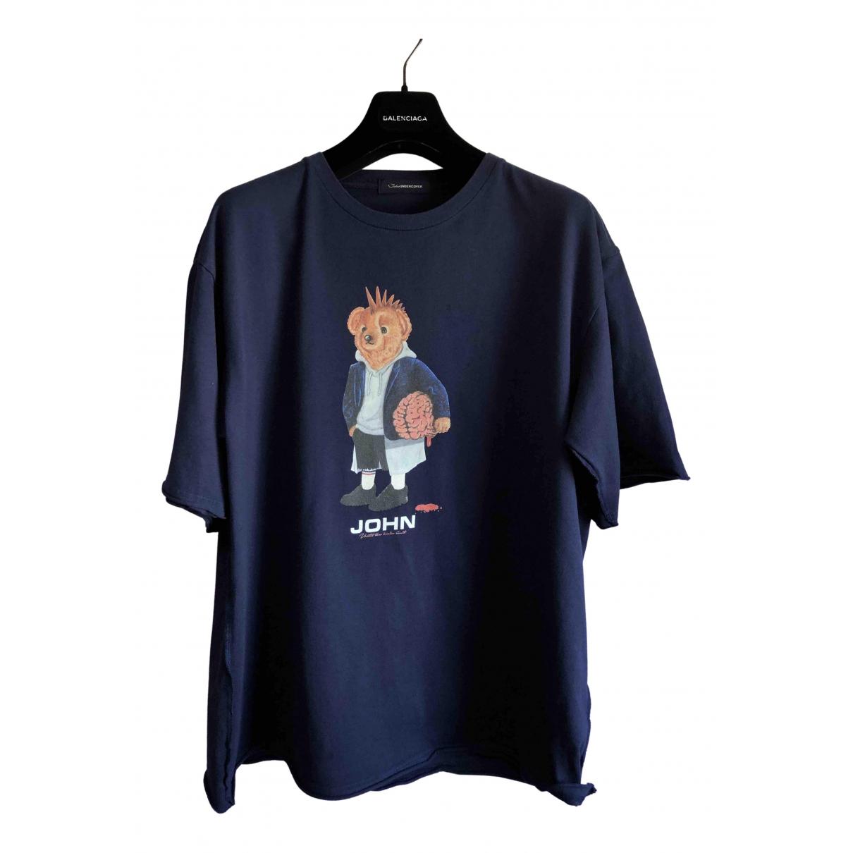 Undercover \N T-Shirts in  Marine Baumwolle