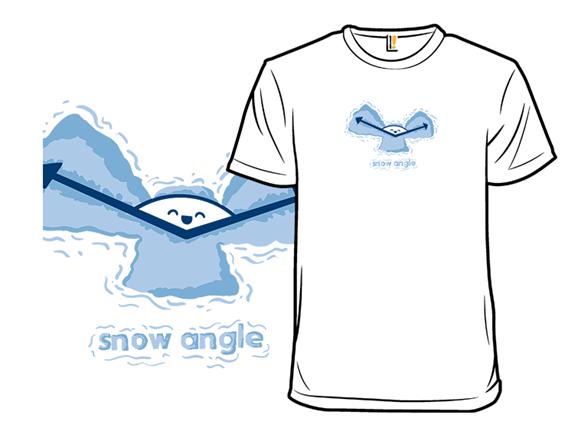 Snow Angle T Shirt