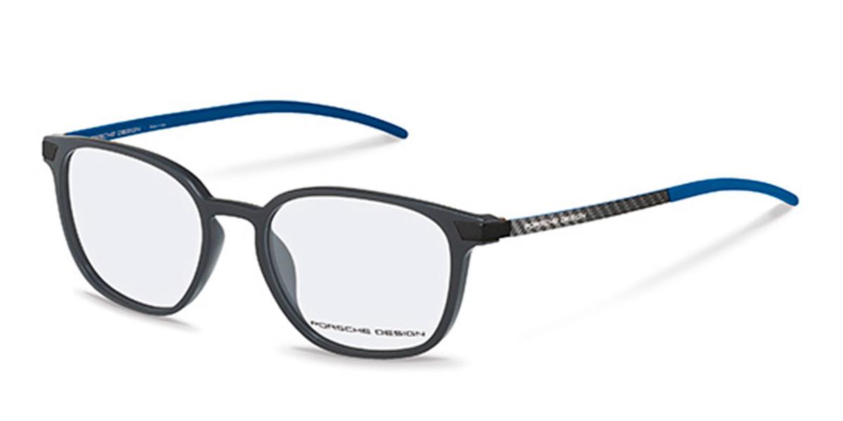 Porsche Design P8348 D Men's Glasses Grey Size 51 - Free Lenses - HSA/FSA Insurance - Blue Light Block Available