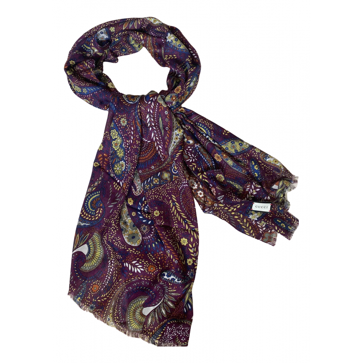 Gucci \N Multicolour Wool scarf for Women \N