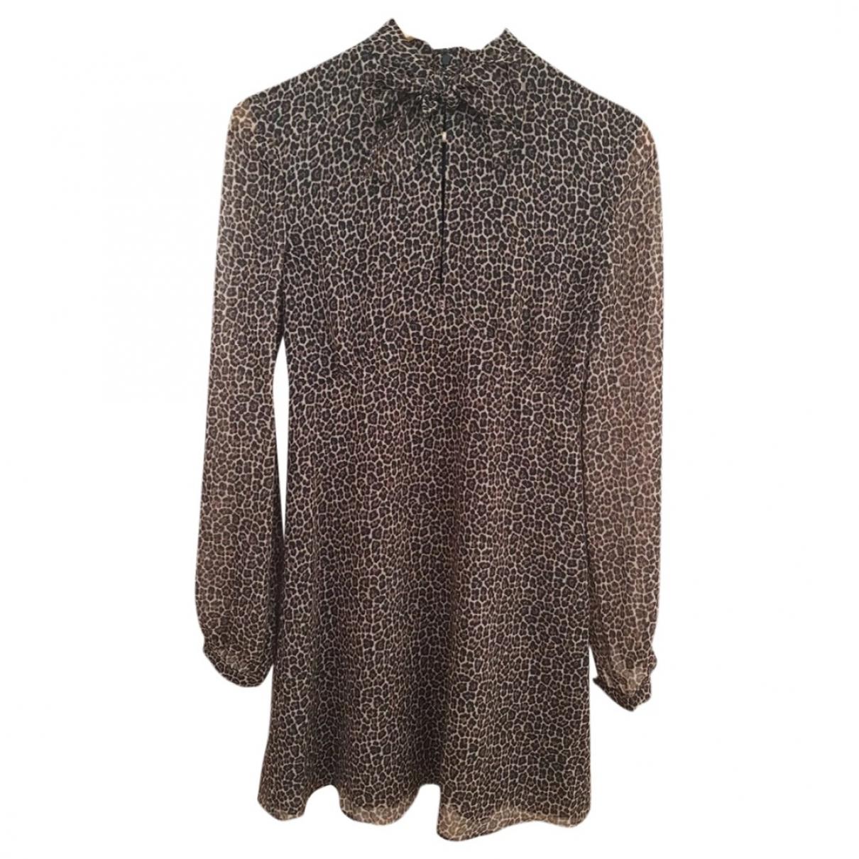 Saint Laurent \N Multicolour Wool dress for Women 38 FR