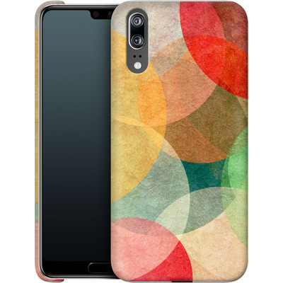 Huawei P20 Smartphone Huelle - The Round Ones von Georgiana Teseleanu