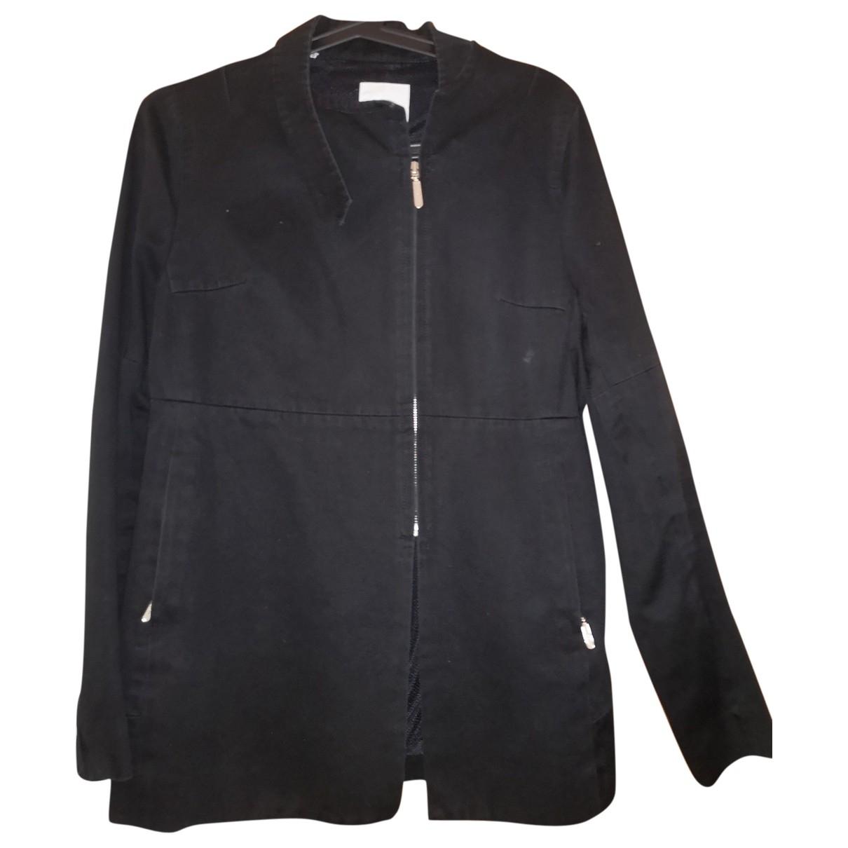 Costume National - Veste   pour femme en coton - noir