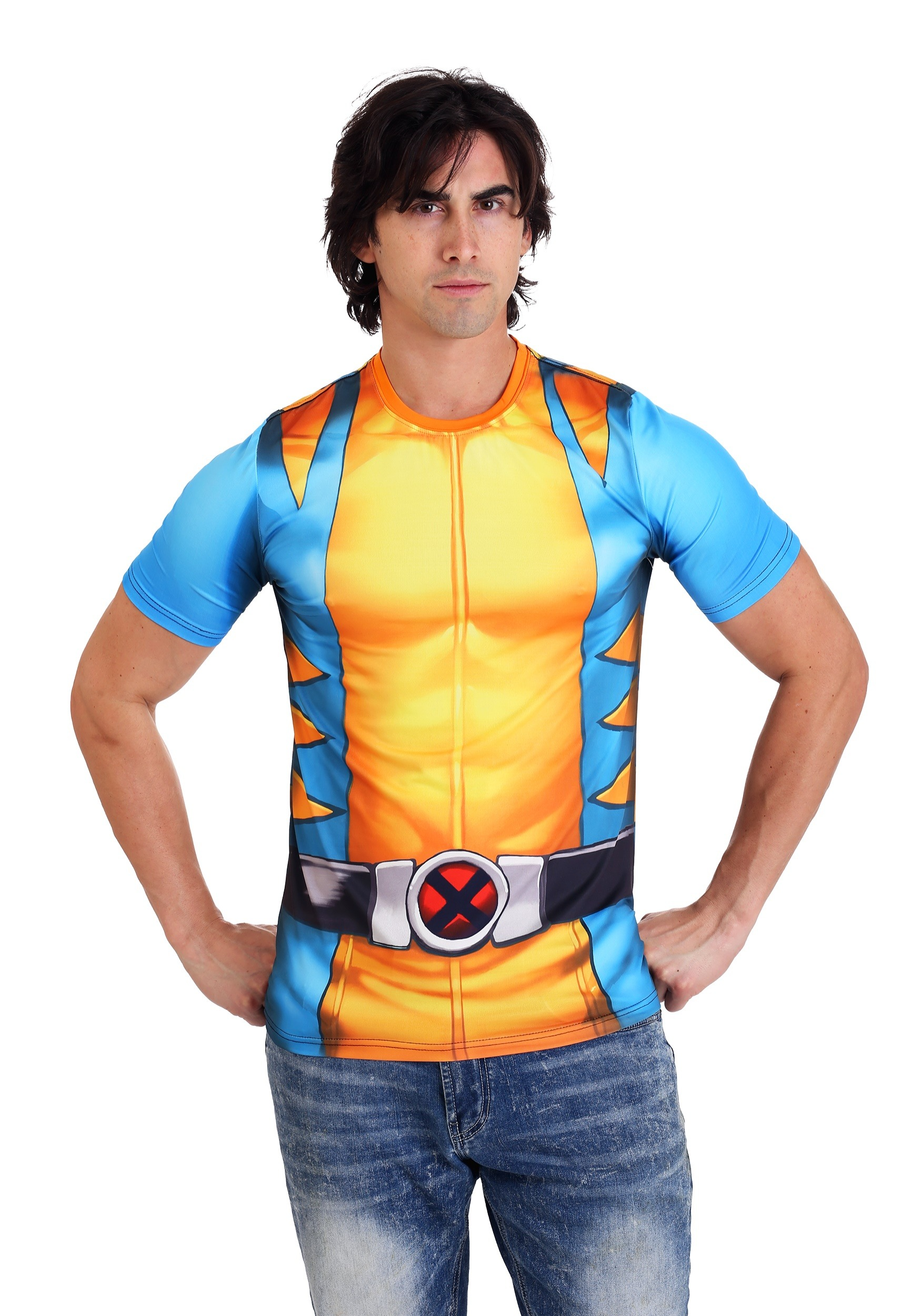 Marvel's X-Men Wolverine Mens Costume Tee