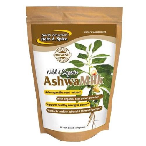 AshwaMilk Drink Mix 3.5 Oz by North American Herb & Spice
