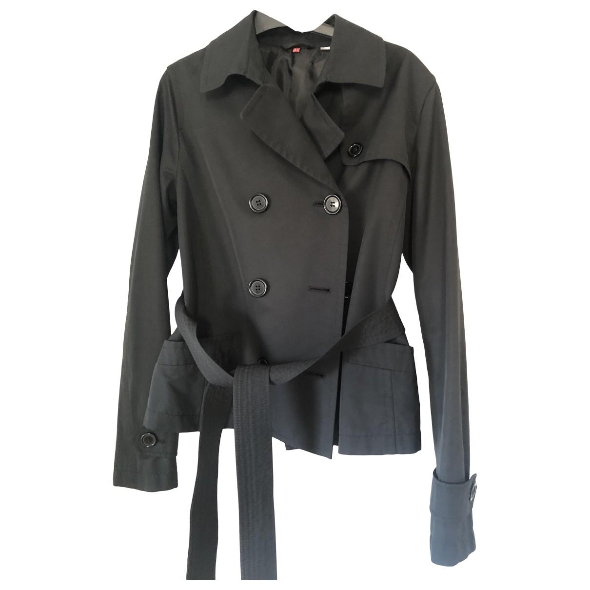 Uniqlo \N Jacke in  Schwarz Polyester