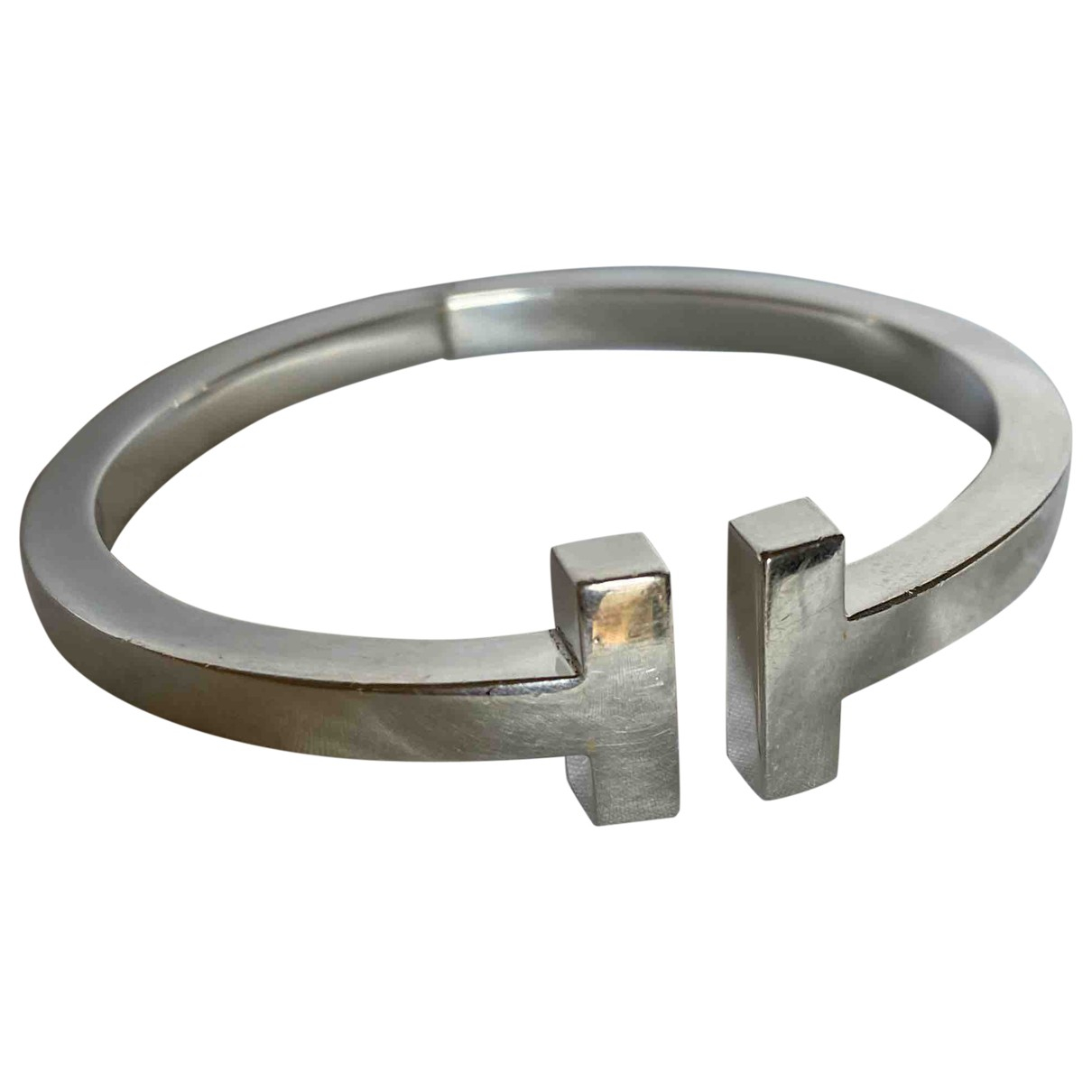 Tiffany & Co Tiffany T Metallic Silver bracelet for Women \N