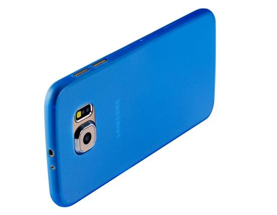 Ultra-Thin Plastic Protective Case for Samsung Galaxy S6 - Blue