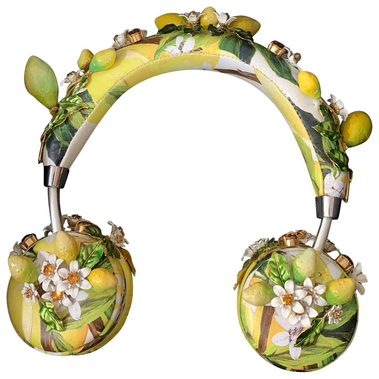 Auriculares de Cuero Dolce & Gabbana