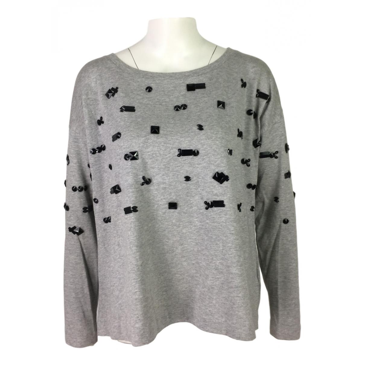 Schumacher \N Grey Cotton Knitwear for Women 2 0-5