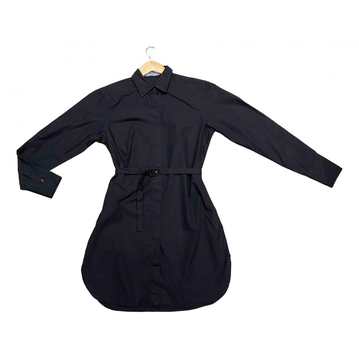 Prada \N Black Cotton dress for Women 40 IT