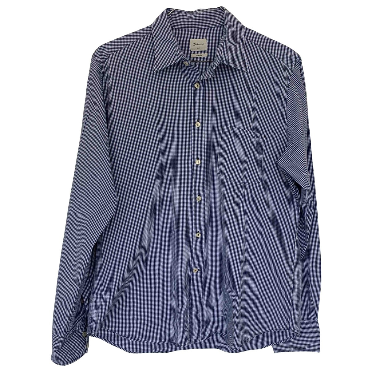 Bellerose \N Hemden in  Blau Baumwolle
