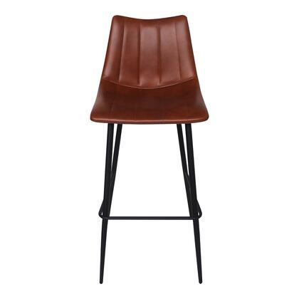 Alibi Collection UU-1003-03 Bar Stool with High Density Foam in Brown