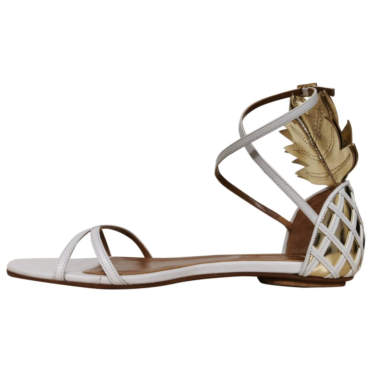 Sandalias de Cuero Aquazzura