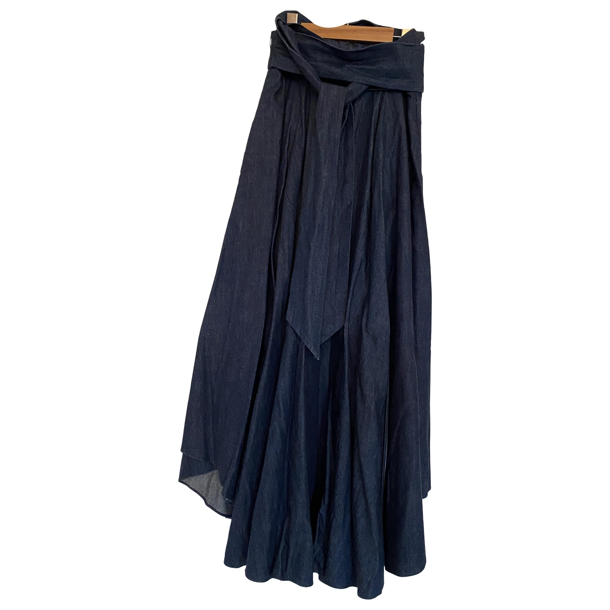 Tibi - Jupe   pour femme en denim - bleu