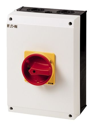 Eaton 3 + N Pole Enclosed Switch Disconnector - 100 A Maximum Current, 50 kW Power Rating, IP65