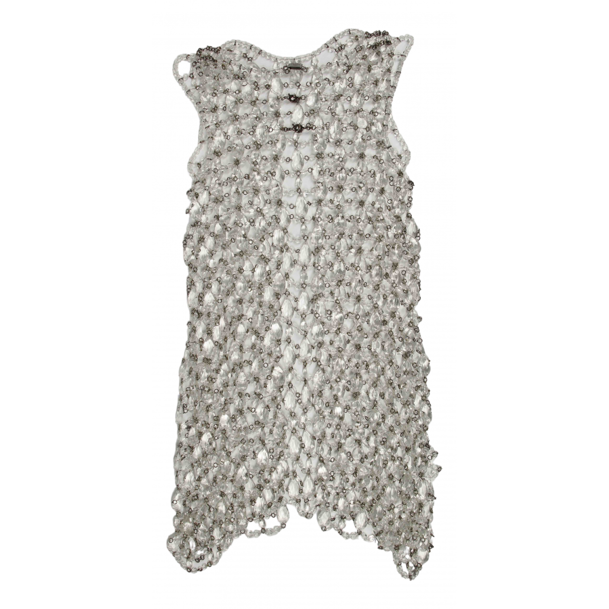 Prada N Silver Cotton dress for Women 40 IT
