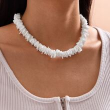 1pc Shell Beaded Necklace