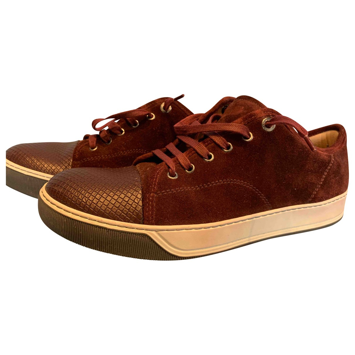 Lanvin \N Suede Trainers for Men 10 UK