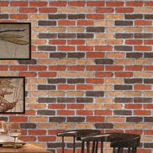 Pegatina de pared con patron de ladrillos