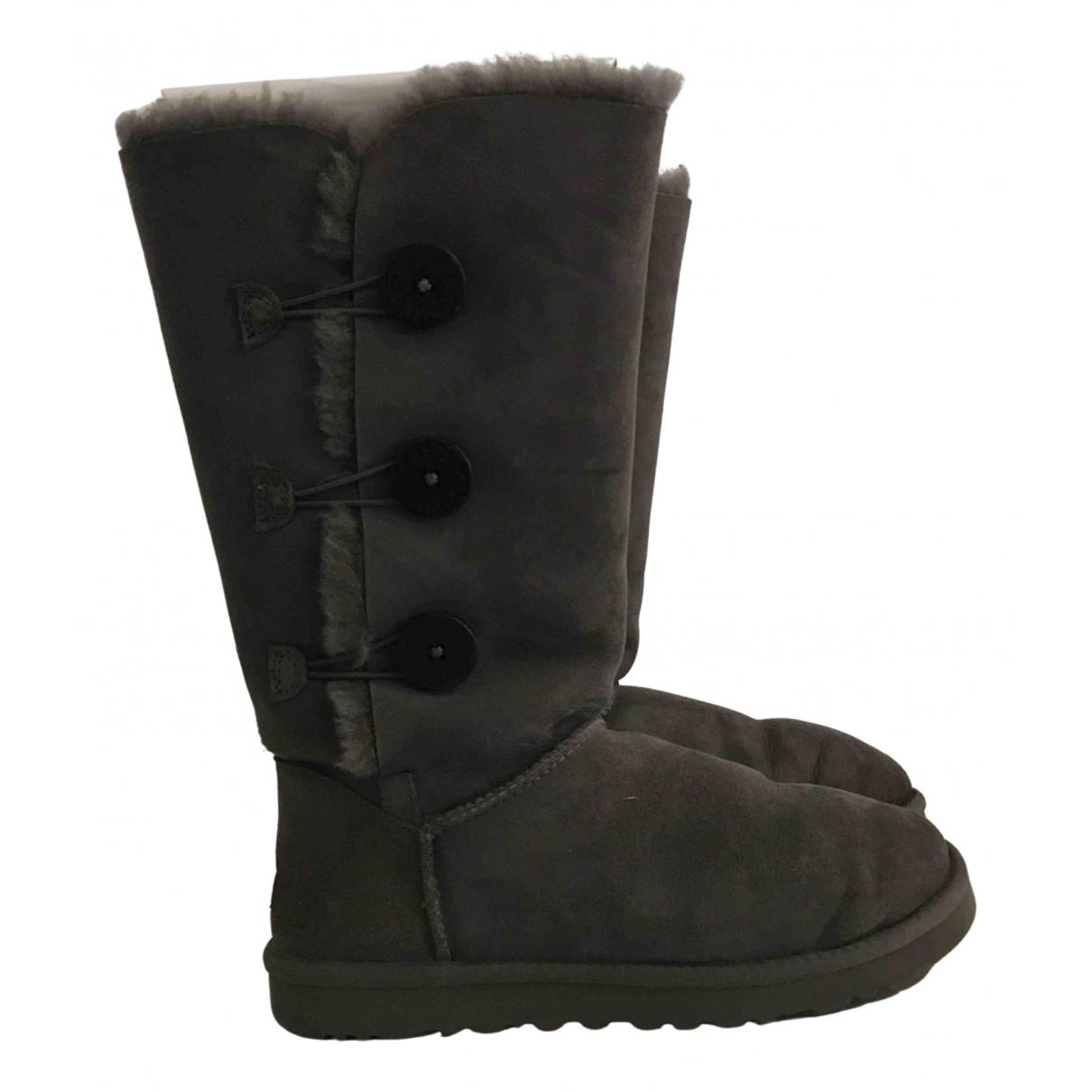 Ugg - Boots   pour femme en mouton - gris