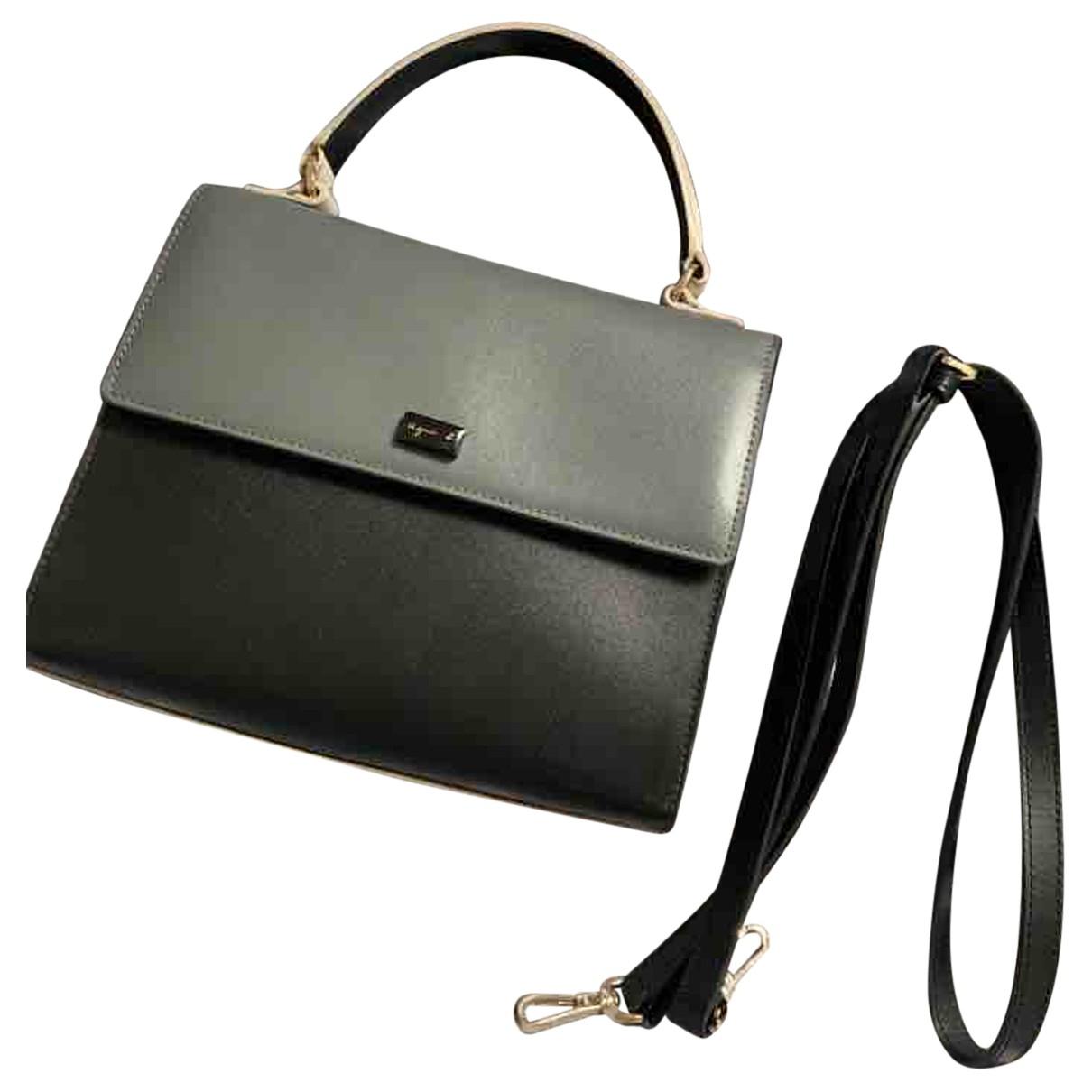Agnès B. N Grey Leather handbag for Women N