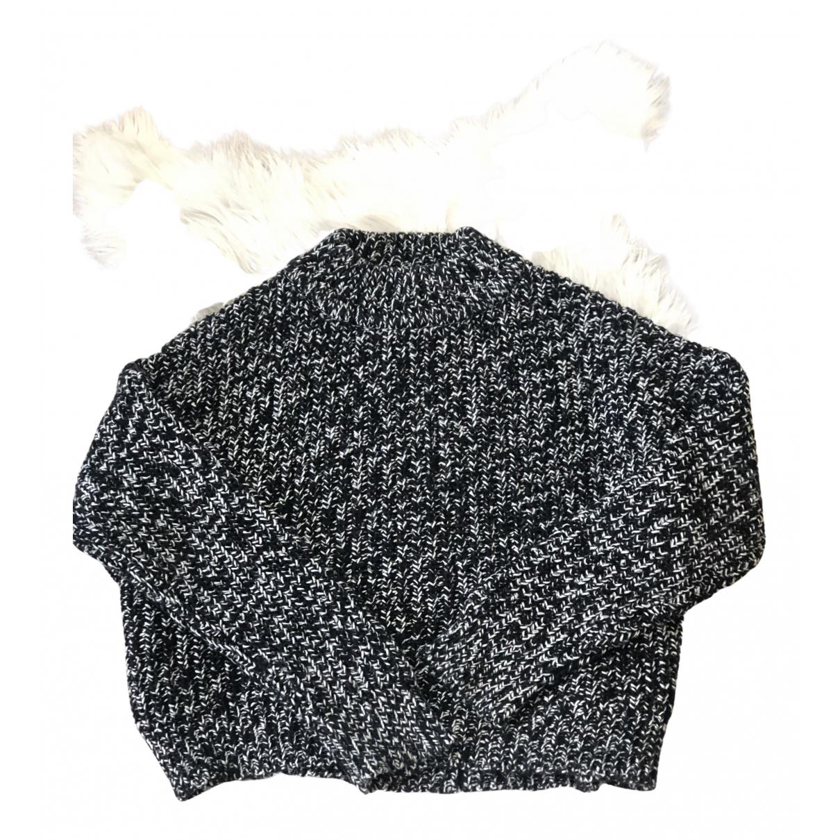 All Saints - Pull   pour femme en coton - noir