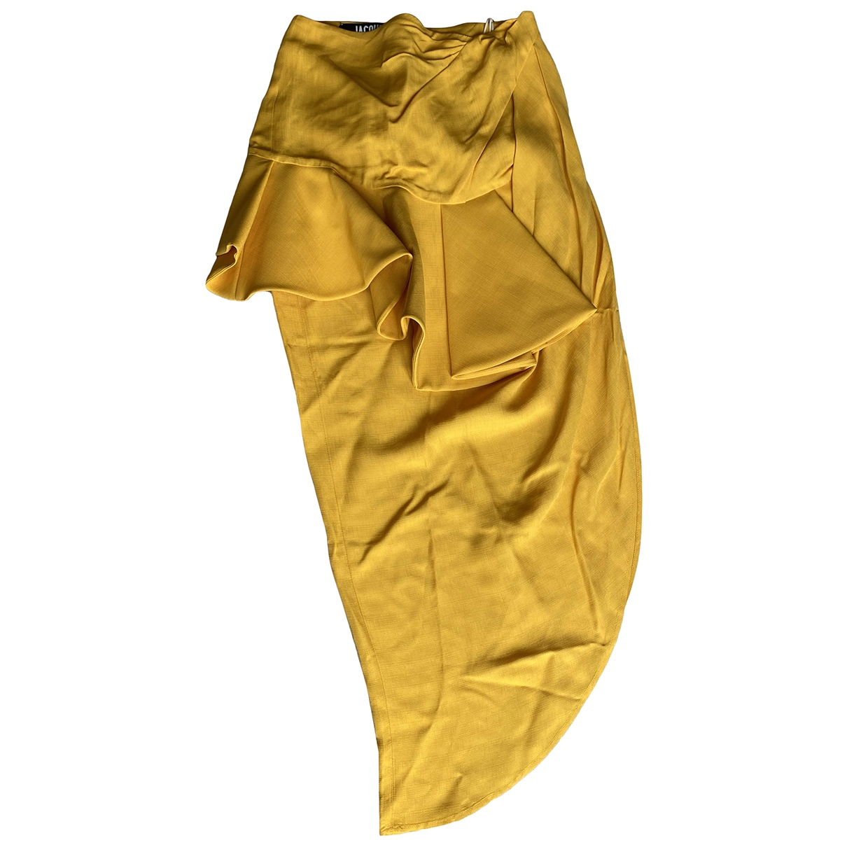 Jacquemus - Jupe La Bomba pour femme en coton - jaune