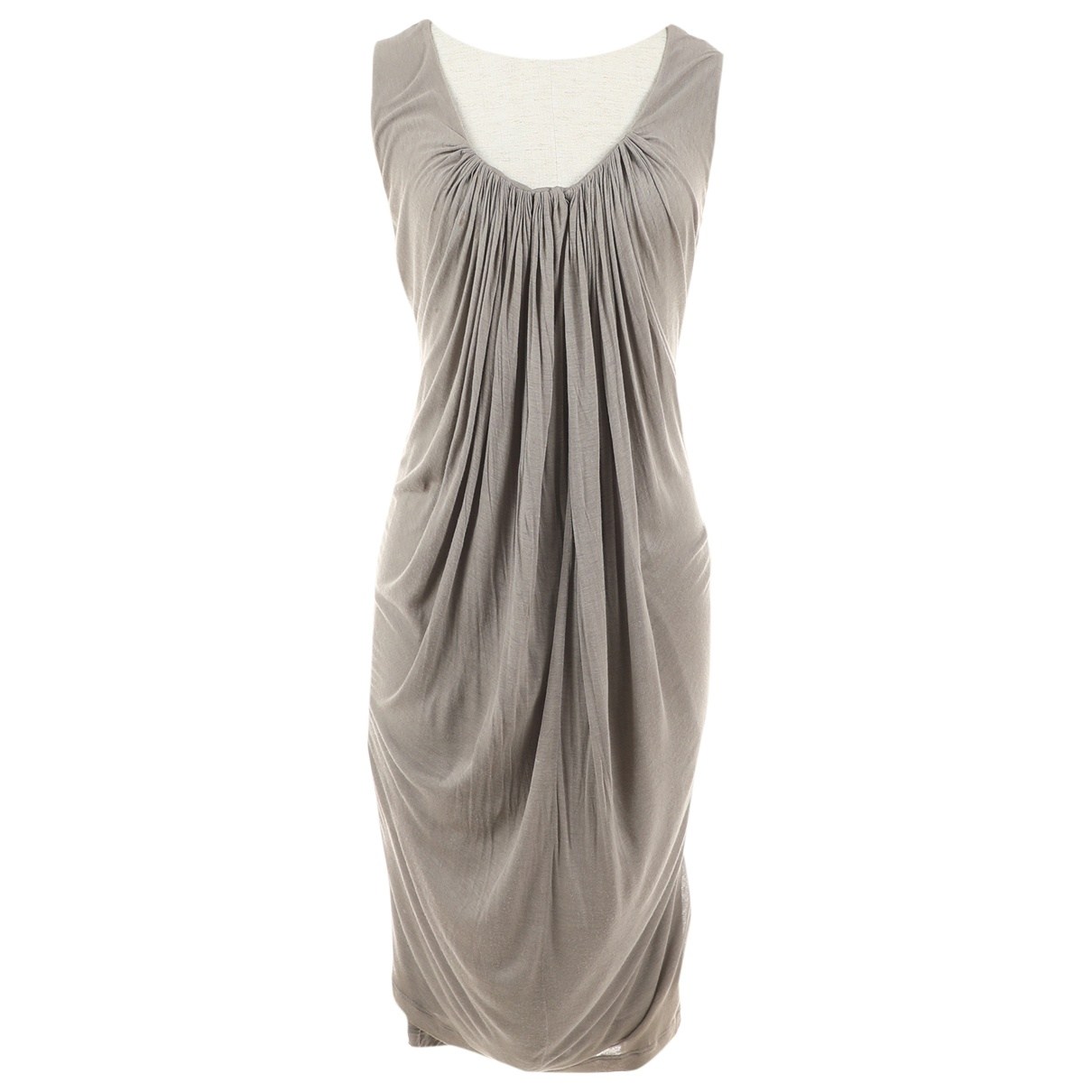 Stella Mccartney \N Kleid in  Grau Viskose